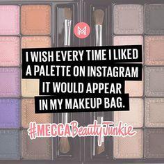 """If only  #MECCABeautyJunkie"" Photo taken by @meccamaxima on Instagram."