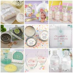 Cute As A Button Baby Shower Party Favors from HotRef.com #cuteasabutton #babyshower