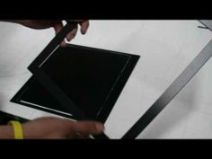 Glass Plate Carrier (for homemade 8x10 view camera) - YouTube