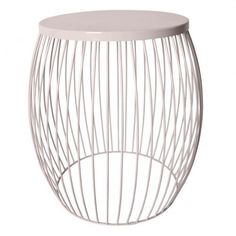 Almond Miami Wire Stool