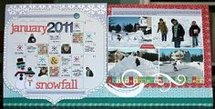 Nancy Damiano. Love anything that incorporates a calendar page! Brilliant!