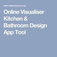 Online Visualiser Kitchen & Bathroom Design App Tool