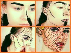 Maquiagem de Halloween | Pop Art