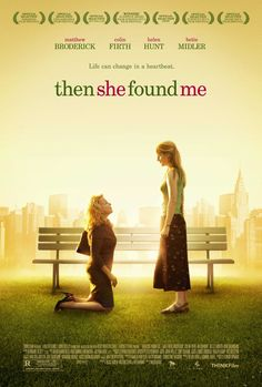 Watch Then She Found Me full hd online Directed by Helen Hunt. With Helen Hunt, Colin Firth, Bette Midler, Matthew Broderick. April Epner's childish husband and school teacher col Movies To Watch, Good Movies, Bette Midler, Colin Firth, Love Movie, Movie Tv, Period Drama Movies, Films Netflix, Movies Worth Watching