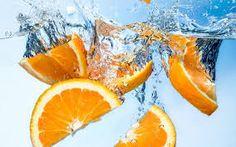 Photo about Orange fruit under water. With splash. Image of refreshing, chunk, blue - 35404900 Orange Fruit, Orange Slices, Wallpaper Downloads, Hd Wallpaper, Nutrition Data, Sports Drink, Fruit Juice, Fresh, Stock Photos