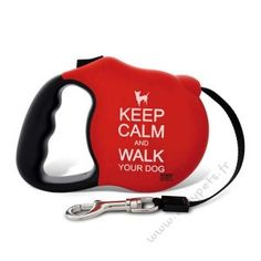Laisse Avant Garde Mat Keep Calm 2 taille disponible (small and medium) Martin Sellier 29.99€