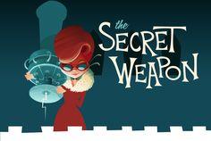 Secret Weapon by William Dalebout, via Behance