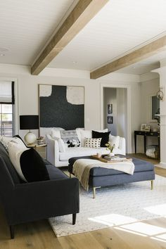 Chicago, IL interior designer specializing in e-design. Havenly Director of Design. Family Dining Rooms, Living Room Seating, Formal Living Rooms, Living Room Modern, Living Room Decor, Living Spaces, Small Living Room Design, Living Room Designs, Couches