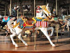 1923 Dentzel Carousel at Fair Park Dallas, TX
