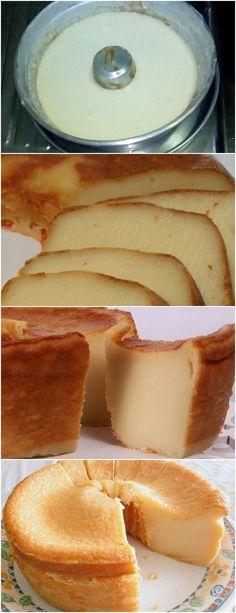 FAÇA ESSE BOLO LISO,É SUPER MOLINHO E DELICIOSO… ❤️ VEJA AQUI>>>Coloque no copo do liquidificador, o leite, os ovos, o açúcar, o leite condensado, a manteiga e a farinha de trigo.Tampe e bata até incorporar todos os ingredientes, cerca de 3 minutos. #receita#bolo#torta#doce#sobremesa#aniversario#pudim#mousse#pave#Cheesecake#chocolate#confeitaria Cupcake Recipes, My Recipes, Sweet Recipes, Real Food Recipes, Cupcake Cakes, Dessert Recipes, Good Food, Yummy Food, Chocolate Sweets