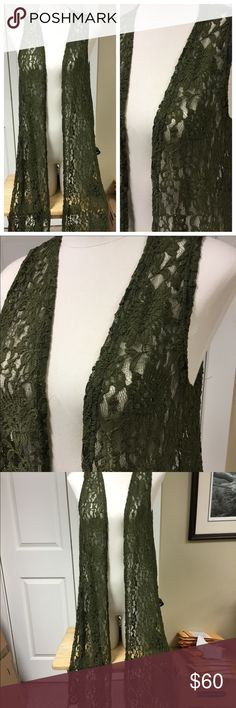 ARMY GREEN NWOT LACE JOY BY LULAROE NWOT Beautiful hard to find army green lace Joy by lularoe. Stretchy.   Note: I am not a consultant, just a customer who loves lularoe and wears it almost daily. I own most styles so feel free to ask any questions and I will try to help. Destashing a bit as my closet is a little full. I have paid retail or above for all items. Feel free to add to a bundle, for a private offer. LuLaRoe Tops