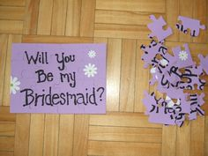 This is how I asked my bridesmaids to be a part of my wedding.
