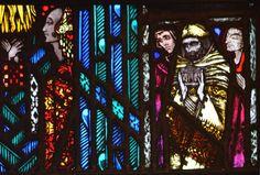 Irish stained glass genius Harry Clarke never fails to inspire! Stained Glass Art, Stained Glass Windows, History Of Illustration, Irish Free State, The Last Judgment, Harry Clarke, Irish Art, Snow Queen, Arts And Crafts Movement