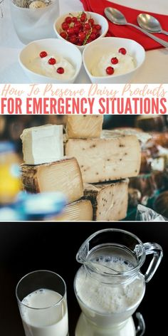 How To Preserve Dairy Products For Emergency Situations — When it comes to being prepared, food and water is usually right at the top of the list. The focus is generally on getting proteins stored for the long term but many of them overlook the importance of having preserved dairy products on hand as well.