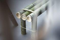 bamboo and string make furniture //