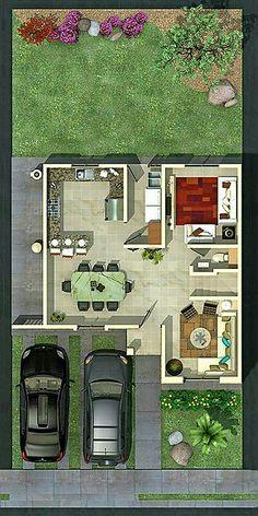 House Layout Plans, Duplex House Plans, Floor Plan Layout, Dream House Plans, Modern House Plans, House Layouts, House Floor Plans, Home Design Floor Plans, Home Building Design