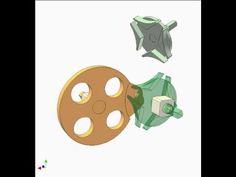 Geneva mechanism 18 - YouTube