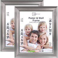 Mainstays 16x20 Silver Poster Frame Walmart Com Poster Frame