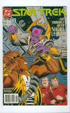 Star Trek Number 42 January DC Comics 1993
