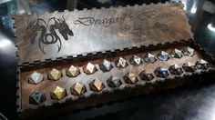 Dragon Breath dice from Artisan Dice. Damn these are beautiful!