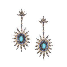 Brincos Stardust - Dryzun E Design, Brooch, Jewellery, Watches, Earrings, Jewelry, Gold, Ear Rings, Jewerly