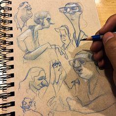 People sketching ✏️ | Use Instagram online! Websta is the Best Instagram Web Viewer!