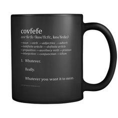 Mug - COVFEFE 11oz Black