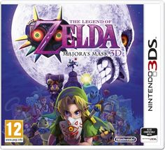 Buy The Legend of Zelda: Majora's Mask on at Mighty Ape NZ. The Legend of Zelda: Majora's Mask is one of the most anticipated titles in the Zelda series that fans want to experience on Nintendo's current ha. The Legend Of Zelda, Zelda Majoras Mask, Majora Mask, Jeux Nintendo 3ds, Nintendo Games, Buy Nintendo, Nintendo Eshop, Super Nintendo, Link Zelda