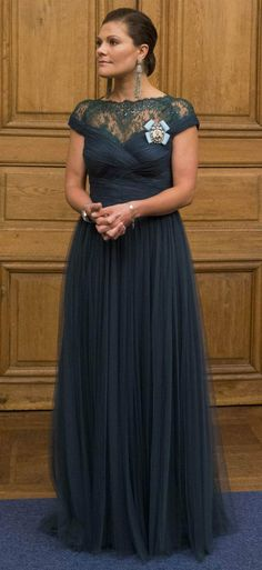 The Swedish Royal Family  held a dinner for members of parliament at the Royal Palace. 2014.10.22
