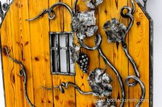 /gallery/bcbs//gates/20111025//th_ Gates And Railings, Metal Gates, Forging Metal, Unique Doors, Blacksmithing, Wrought Iron, Candle Sconces, Wall Lights, Windows