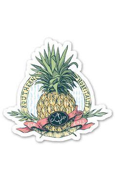 Southern Hospitality Sticker