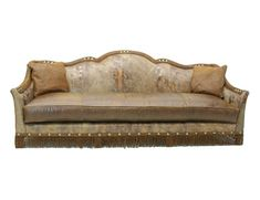 Shop for Old Hickory Tannery Desert Dunes Sofa, and other Living Room One Cushion Sofas at Hickory Furniture Mart in Hickory, NC. Parks Furniture, Family Room Furniture, Country Furniture, Furniture Decor, Chair And Ottoman, Cushions On Sofa, Throw Pillows, Old Hickory Tannery, Hickory Furniture