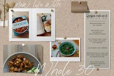 Article complet sur le programme WHOLE30 . Changer d'alimentation en 30 jours. Whole 30, Diet Recipes, 30th, Healthy, Food, Inflammatory Foods, 30 Day, Loosing Weight, Kitchens