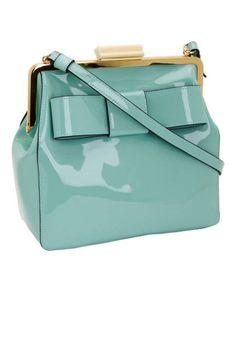 The Shoulder Bag: Orla Kiely Patent Leather Holly Bag, $398; amazon.com