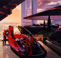 Syd Mead - always a good inspiration!