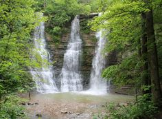 Twin Falls was Triple Falls when we visited this beautiful site. Pic taken by SKS.