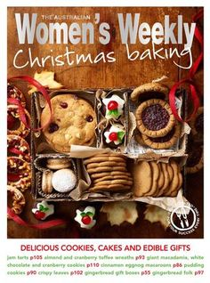 CHRISTMAS BAKING  A baking book full of Christmas recipes for The Australian Women's Weekly. Covers cookies, big celebration cakes and edible gifts.