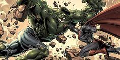 Superman Hulk 13 Marvel vs. DC Superhero Fights Wed Love to See