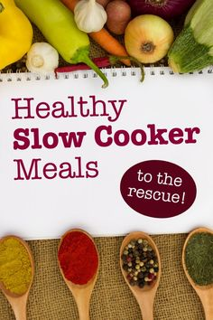 Slim-Down Suppers: Healthy Slow-Cooker Meals. These slow cooker meals are sure to please the pickiest eater--and they are good for you!  | via @SparkPeople