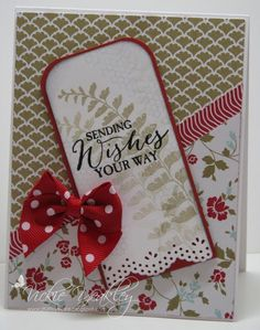 SC573 Sending Wishes vky by Vickie Y - Cards and Paper Crafts at Splitcoaststampers