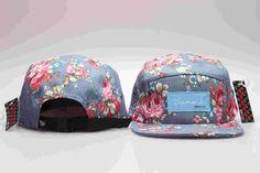 a236aa42150 Five 5 panel Diamond Snapback Cap Hip Hop Floral Cap Flat Hat for Men    Women
