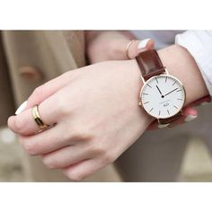 Gorgeous leather watch