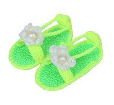 Bigood(TM) 1 Paar Strickschuh One Size Strick Schuh Baby Unisex süße Muster 11cm Mit Schuhband Grün - http://on-line-kaufen.de/bigood/gruen-j-bigood-tm-1-paar-strickschuh-one-size-schuh