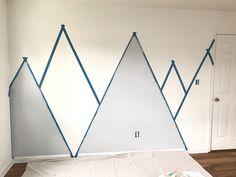 Kids Room Murals, Murals For Kids, Kids Room Paint, Baby Room Paintings, Room Wall Painting, Cool Bedrooms For Boys, Kids Bedroom, Baby Room Diy, Baby Room Decor