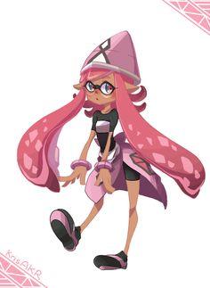 "krisakr: "" Gijinka? no, more like, how do you call it, squid-nified??? Tapu Lele is a freaking pink squid how can I stay calm omg send help "" Tapu Squid"