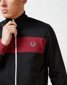 FRESH: Fred Perry Panel Track Jacket #retrosportswear #fredperry