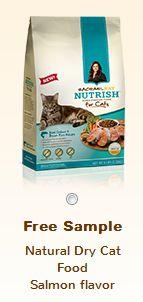 Free Sample of Rachel Ray dog or cat food!