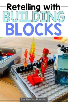 Are you looking for new retelling activities to use with your elementary students? Luckily, I have the perfect activity for you that will improve students' retelling ability! This engaging and effective retelling strategy will benefit even your most reluctant readers. When students practice retelling with lego building blocks, they will be eager to independently implement the strategy! Be sure to download the FREE resource to set up this retelling center in your classroom! Summarizing Activities, Retelling Activities, Free Activities, Reluctant Readers, Struggling Readers, Story Elements Activities, Story Retell, Organization And Management, Mentor Texts