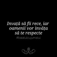 pentru ca oamenii respecta doar mortii , stii cum zic ? ~ Emmi Hell&Back ~ Funny Quotes, Funny Memes, Let Me Down, Fake Friends, Sad Stories, Self Love Quotes, Poetry Quotes, Spiritual Quotes, Favorite Quotes