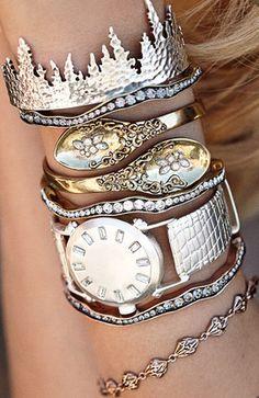 Loving these cuff bracelets from @mrkatedotcom http://rstyle.me/n/rd8cdnyg6